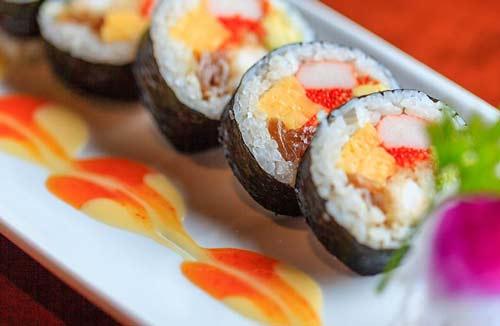 Shrimp Futo Maki